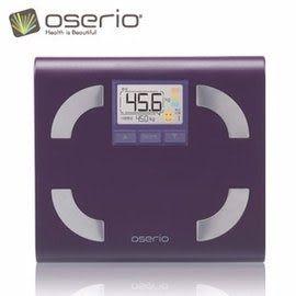 【oserio歐瑟若】多功能體脂計 FFP-330D (紫蘿蘭)