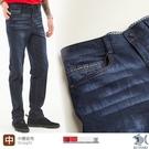 【NST Jeans】舒棉 個性復古多層刷色‧牛仔男褲-中腰直筒 395(66666) 台灣製