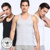 男士背心男純棉質青年修身型透氣打底夏季運動健身跨欄背心