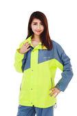 M2R兩件式風雨衣,M9,螢光黃