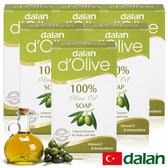 【土耳其dalan】頂級82%橄欖手工滋養皂 6入