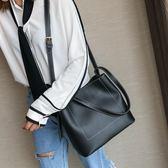 手提包 韓版2018新款潮個性時尚百搭簡約手提包大氣大包包LJ8184『miss洛羽』