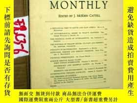二手書博民逛書店SCIENTIFIC罕見MONTHLY 科學月刊1930年12月