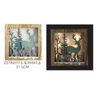 【X mas聖誕特輯】聖誕裝飾-發光木製聖誕鹿 (21.5公分) Z0786899