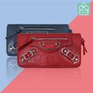 長夾 時尚設計皮夾 多夾層款手拿包 零錢包  89.Alley ☀4色 HL-8985