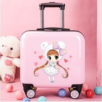 新款兒童拉桿箱粉色夏令營卡通可愛公主小學生行李箱女孩LX 童趣屋