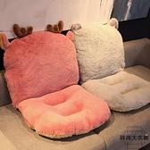 連體坐墊靠墊一體辦公室椅墊座墊屁股墊子毛絨冬季【時尚大衣櫥】