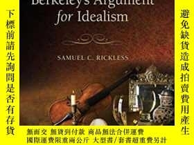 二手書博民逛書店Berkeley s罕見Argument For Idealis