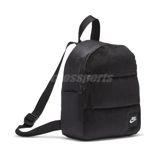Nike 後背包 NSW Essentials Winterized Mini Backpack 黑 白 男女款 兒童款 雙肩背 運動休閒【ACS】 CU2574-010