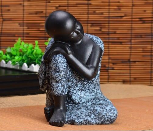 【協貿國際】小沙彌泰國印度陶瓷器