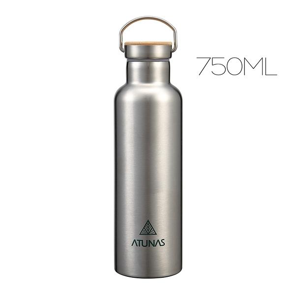 ATUNAS不鏽鋼運動真空保溫瓶750ml(歐都納/304真空保溫壺/保冰杯/環保無毒)