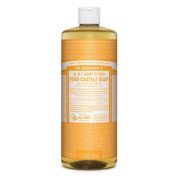 DR.BRONNER'S【布朗博士】32 oz柑橘潔膚露