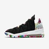 Nike Lebron Xviii Ep [CQ9284-002] 男鞋 籃球 運動 休閒 緩震 抓地力 穿搭 黑 粉