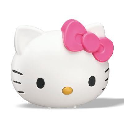 GW Hello Kitty 水玻璃分離式無線除濕機 (※須搭配還原底座循環使用)