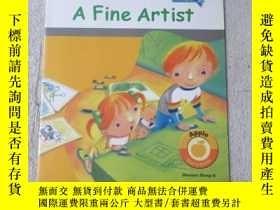 二手書博民逛書店A罕見Fine Artist(Apple Storybook )