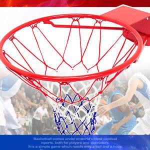 壁鎖籃框+網│18吋金屬籃球框架(含籃球網)耐用籃球架子籃網.籃架不含籃球板.打籃球推薦