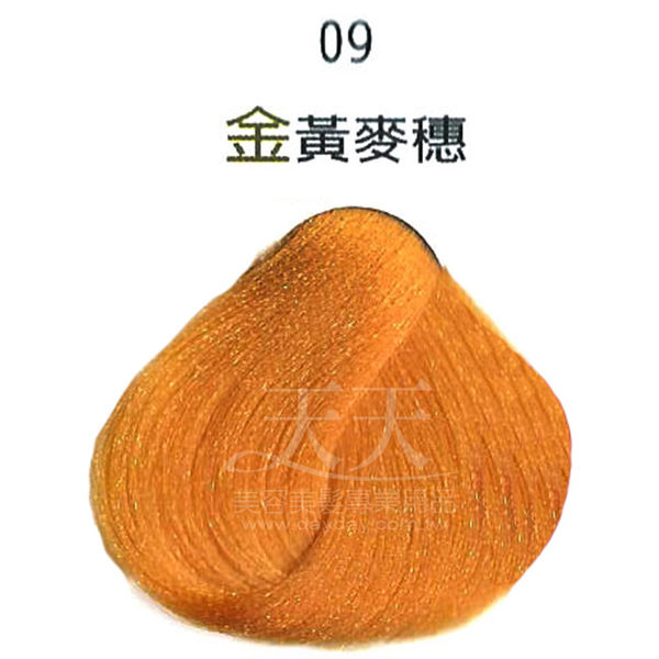 【挑染專用】彩靈EURO 彩色漂粉15g-09金黃麥穗 [85908]