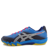 Asics GEL-Blade 6 [R703N-402] 男鞋 運動 羽球 包覆 支撐 透氣 舒適 亞瑟士 藍