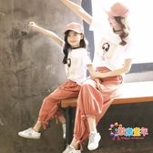 親子裝 女童套裝2019新款潮親子裝母女裝洋氣夏童裝韓版時尚全家裝家庭裝 1色 交換禮物