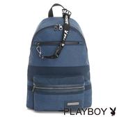 PLAYBOY- 後背包 Cool play系列-藍色