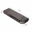 Xier多功能電腦手機讀卡器五合一SD/TF/Type-C/MicroUSB3.0讀卡器 探索先鋒