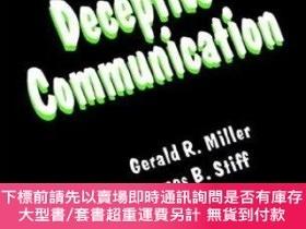 二手書博民逛書店Deceptive罕見CommunicationY255174 Gerald Miller Sage Publ
