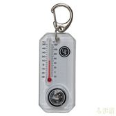 UST 美國 CT溫度計指北針鑰匙圈 20-12109 羅盤 登山 露營 野外 緊急求生工具 [易遨遊]