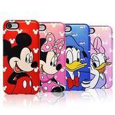 Disney 迪士尼 珠光 雙層防摔 手機殼│iPhone 5S SE 6 6S 7 8 Plus X XS MAX XR│z7737