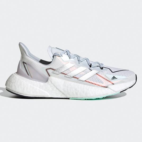 ADIDAS X9000L4 HEAT.RDY 男鞋 慢跑 科技風 網布 襪套 緩震 白銀【運動世界】FX8453