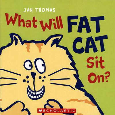 【麥克書店】WHAT WILL FAT CAT SIT ON? / 英文繪本《主題:幽默》