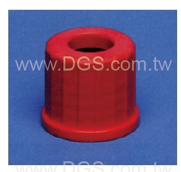 《德製》 中孔螺蓋 Plastic Screw Closure,Red
