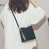 高級感法國小眾洋氣水桶包包女包新款潮時尚簡約百搭斜背包女 智慧e家