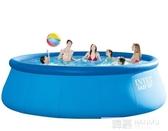 兒童充氣游泳池加厚家用成人大型家庭戶外戲水池超大號  雙12購物節 YTL