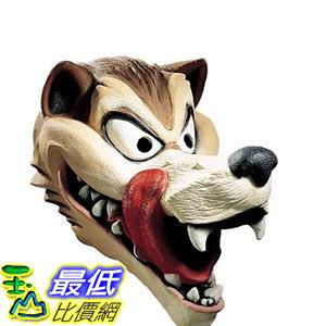 [103美國直購] 成人狼面具 Adult Wolf Mask