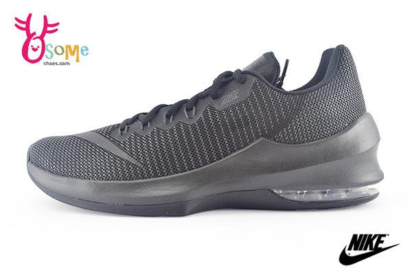 NIKE AIR MAX INFURIATE 2 LOW EP 男籃球鞋 氣墊 低筒 運動鞋O7042#黑色◆OSOME奧森鞋業
