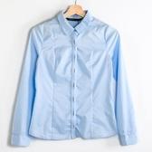 【MASTINA】清新簡約襯衫-藍  秋裝限定嚴選