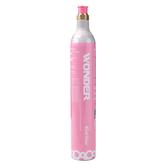 【回充交換鋼瓶】THOMSON 健康氣泡水機 TM-SAU02W 配件:二氧化碳氣瓶(425g) 桃紅色(限同款鋼瓶)
