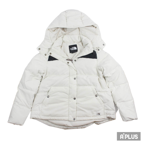 The North Face 女 W DOWN CROP JACKET - AP 羽絨外套 連帽外套 - NF0A3VUF11P1
