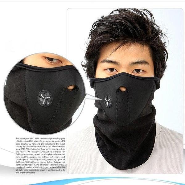 【DP320】防風面罩 防護面罩 防寒面罩 保暖面罩 抓絨面罩 機車面罩 自行車口罩★EZGO商城★