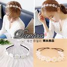 髮箍 現貨 韓國時尚氣質甜美夏天太陽花朵...