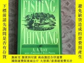 二手書博民逛書店FISHING罕見AND THINKINGY234641 FIS