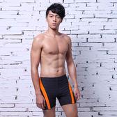 ★奧可那★型男橘條紋泳褲