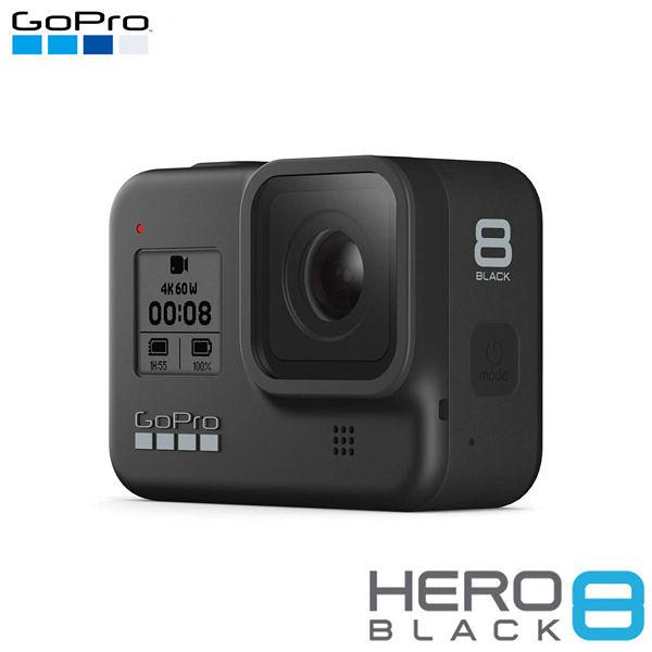 分期0利率 GoPro HERO 8 Black 黑 黑色 頂級旗艦版 晶豪泰 (公司貨) 運動攝影機 防水 支援4K60P