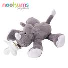 【美國nookums】安撫奶嘴玩偶 - 灰犀牛 #NOO001006