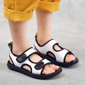 【雙11】男童涼鞋夏季新款小孩包頭中大童學生寶寶兒童鞋子正韓沙灘鞋免300