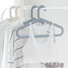 無痕衣掛衣架子衣櫃塑料宜家用多功能防滑晾衣服女臥室白色衣撐 【618購物節】