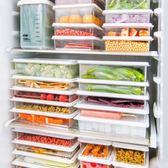 塑料透明食物收納盒 2個裝