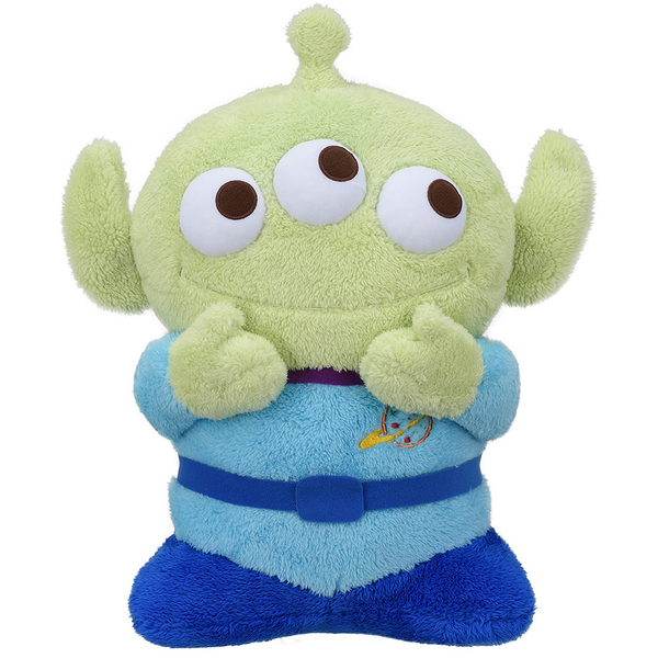 日本SEGA PLAZA 景品 玩具總動員 CHIBI三眼怪絨毛