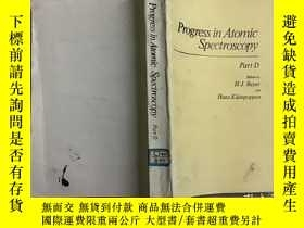 二手書博民逛書店Progress罕見in Atomic Spectroscopy