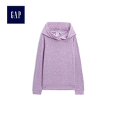 Gap女童 連帽長袖針織套頭衫 499212-丁香紫
